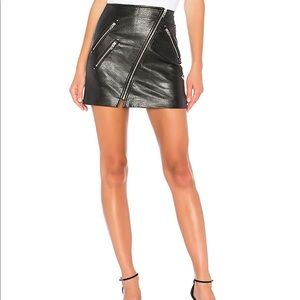 BLANKNYC Vegan Leather Skirt